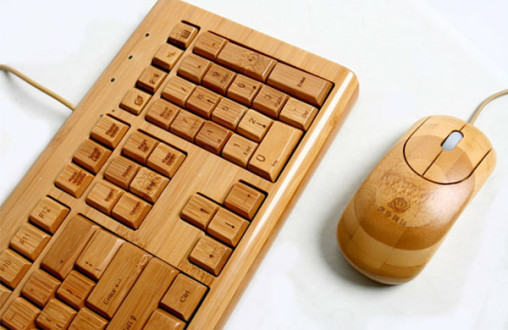 Bamboo Keyboard & Mouse post