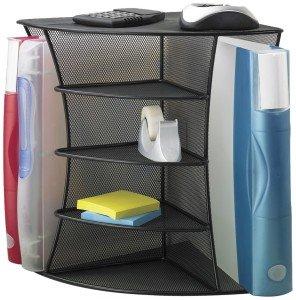 mesh corner desk organizer