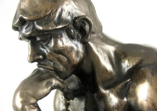 Rodin Thinker head