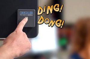 Cubicle Doorbell Cube Decor Zone