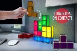 tetris lamp as cubicle accessory