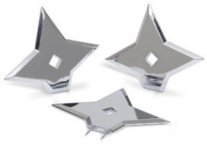 ninja star push pins