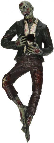 impaled zombie pen holder accessory top view
