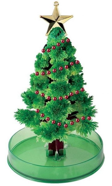 Magical growing christmas tree kit cube decor zone for Decoration zone