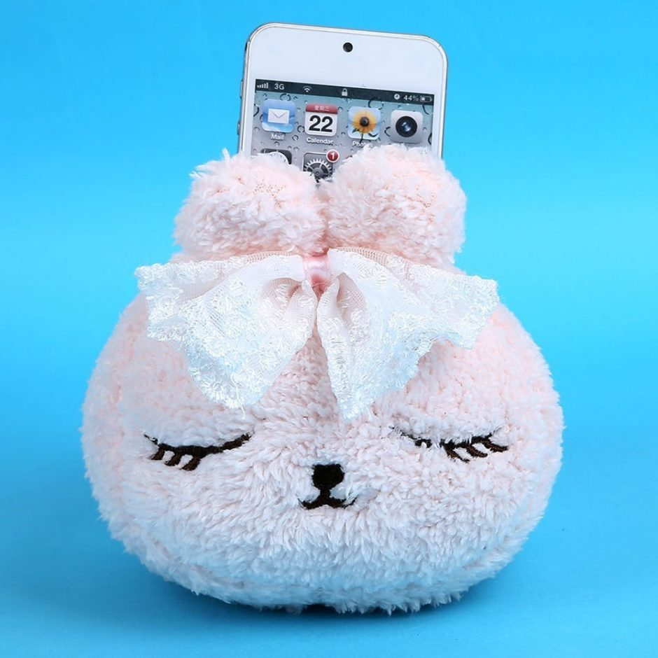 cute-rabbit-cell-phone-holder