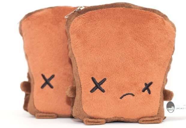 cute dark toast USB hand warmers