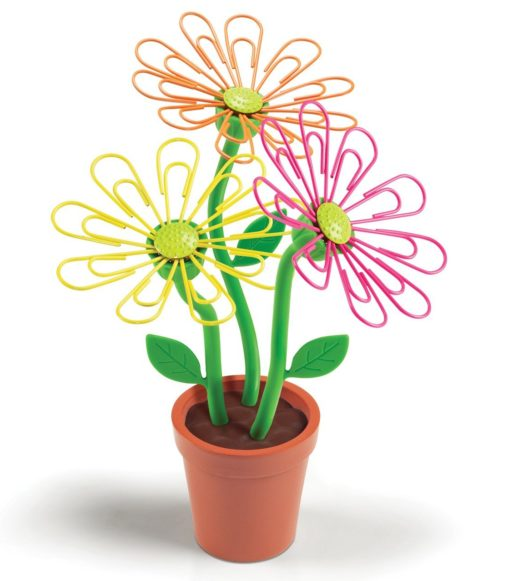 desk daisy paper clip holder