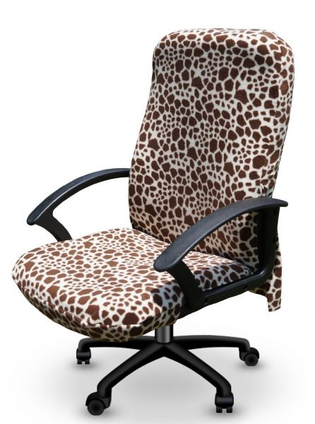 Decorative Print Office Chair Cover Cubicle Decor Zone