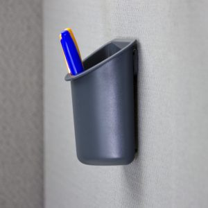 pencil-cup-mounted-to-cubicle-wall-side