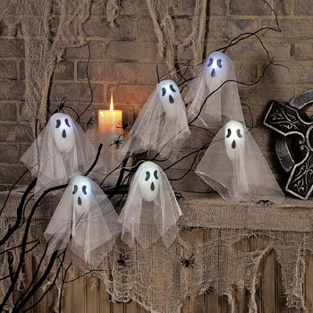 flashing ghosts decoration