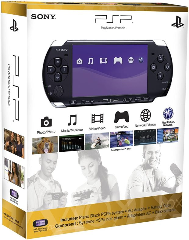 Playstation Portable 3000 in box