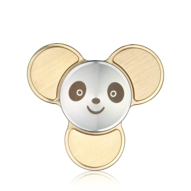 mini panda spinner front view