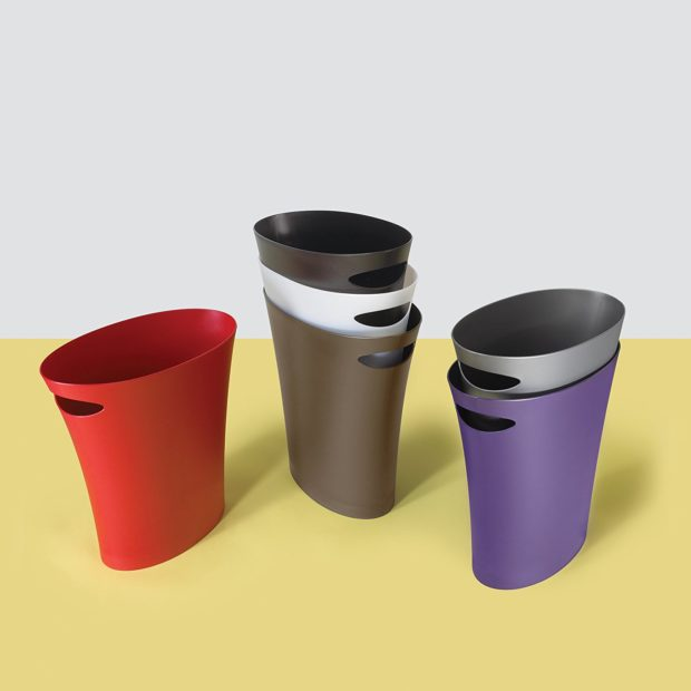 skinny trash can available colors
