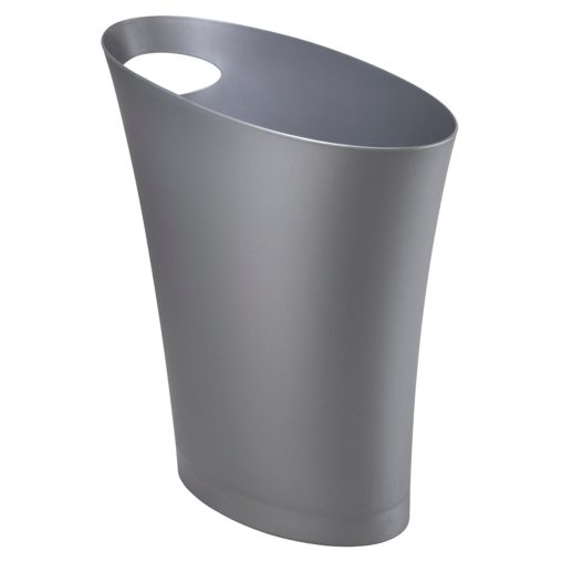 skinny trash can for cubicle
