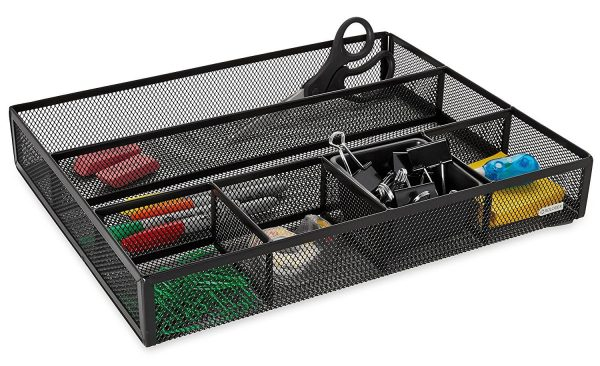 desk organizer with drawers mesh drawer organizer cube decor zone 14686